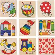Cover-Bild zu Memospiel Spielzeug / 2 Ex.