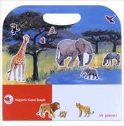 Cover-Bild zu Magnetspiel Dschungel