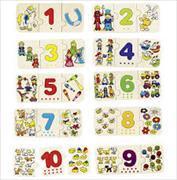 Cover-Bild zu Puzzle Zählen und zuordnen