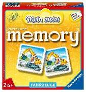 Cover-Bild zu Mein erstes memory® Fahrzeuge