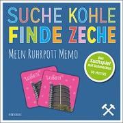 Cover-Bild zu Suche Kohle - Finde Zeche. Mein Ruhrpott Memo