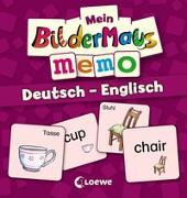 Cover-Bild zu Mein Bildermaus-Memo - Deutsch - Englisch von Ginsbach, Julia (Illustr.)