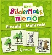 Cover-Bild zu Mein Bildermaus-Memo - Einzahl - Mehrzahl von Bux, Alexander (Illustr.)