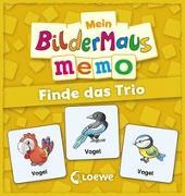 Cover-Bild zu Mein Bildermaus-Memo - Finde das Trio von Broska, Elke (Illustr.)