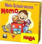 Cover-Bild zu Mein Schulranzen-Memo von Hutzler, Thilo