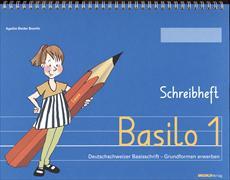 Cover-Bild zu Basilo 1. Schreibheft von Bieder Boerlin, Agathe