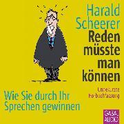 Cover-Bild zu Reden müsste man können (Audio Download) von Scheerer, Harald