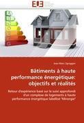 Cover-Bild zu Bâtiments à haute performance énergétique: objectifs et réalités von Zgraggen-J