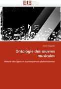 Cover-Bild zu Ontologie Des Uvres Musicales von Chapatte-Y