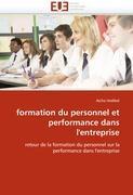 Cover-Bild zu formation du personnel et performance dans l'entreprise von Hedibel-A