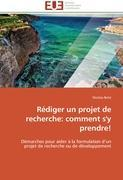 Cover-Bild zu Rédiger un projet de recherche: comment s'y prendre! von Betsi-N
