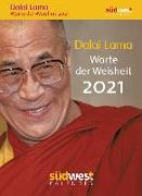 Cover-Bild zu Dalai Lama - Worte der Weisheit 2021 Tagesabreißkalender