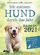 Cover-Bild zu Mit meinem Hund durchs Jahr - Kalender 2021