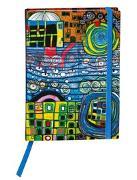 Cover-Bild zu Hundertwasser Agenda 2021 (Die vier Einsamkeiten)