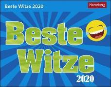 Cover-Bild zu Beste Witze Kalender 2020
