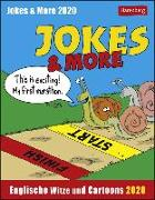 Cover-Bild zu Jokes & More Kalender 2020