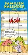 Cover-Bild zu Uli Stein - Familienkalender 2021: Familienplaner mit 5 Spalten