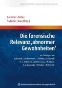 """Cover-Bild zu Die forensische Relevanz """"abnormer Gewohnheiten'' von Lammel, Martina (Hrsg.)"""