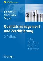 Cover-Bild zu Qualitätsmanagement und Zertifizierung von Ertl-Wagner, Birgit
