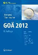 Cover-Bild zu Goä 2012 (eBook) von Roscher, Bärbel (Hrsg.)