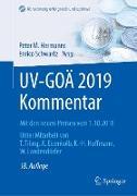 Cover-Bild zu UV-GOÄ 2019 Kommentar von Hermanns, Peter M. (Hrsg.)