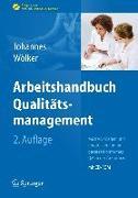 Cover-Bild zu Arbeitshandbuch Qualitätsmanagement von Johannes, Heike