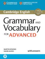 Cover-Bild zu Cambridge English. Grammar and Vocabulary for Advanced Book with Answers and Audio von Hewings, Martin