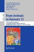 Cover-Bild zu From Animals to Animats 15 (eBook) von Manoonpong, Poramate (Hrsg.)