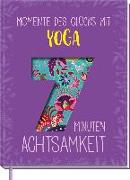 Cover-Bild zu Momente des Glücks mit Yoga von Scheidt, Inga