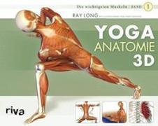Cover-Bild zu Yoga-Anatomie 3D von Long, Ray