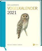 Cover-Bild zu Der illustrierte Vogelkalender 2021