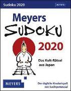 Cover-Bild zu Meyers Sudoku Kalender 2020