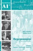 Cover-Bild zu Begegnungen A1+. Glossar von Buscha, Anne