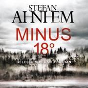 Cover-Bild zu Minus 18 Grad (Ein Fabian-Risk-Krimi 3) von Ahnhem, Stefan