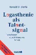 Cover-Bild zu Legasthenie als Talentsignal von Davis, Ronald D.