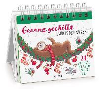 Cover-Bild zu Gaaanz gechillt durch den Advent von Manneh, Lisa (Illustr.)