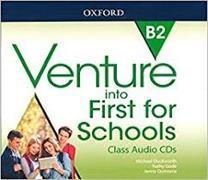 Cover-Bild zu Venture into First for Schools: Class Audio CDs (x3) von Duckworth, Michael