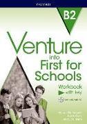 Cover-Bild zu Venture into First for Schools: Workbook With Key Pack von Duckworth, Michael
