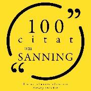 Cover-Bild zu 100 citat om sanningen (Audio Download) von Twain, Mark