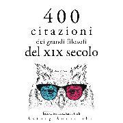 Cover-Bild zu 400 citazioni dei grandi filosofi del XIX secolo (Audio Download) von Schopenhauer, Arthur