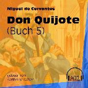 Cover-Bild zu Don Quijote, Buch 5 (Ungekürzt) (Audio Download) von Cervantes, Miguel de