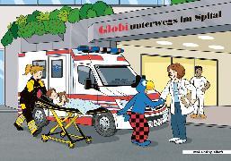 Cover-Bild zu Globi Malheft unterwegs im Spital