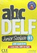 Cover-Bild zu ABC DELF JUNIOR SCOLAIRE NIVEAU B1 + DVD + LIVRE WEB