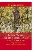 Cover-Bild zu Mein Name ist in deine Hand geschrieben von Herstellung (Hrsg.)