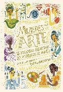 Cover-Bild zu Mujeres en el arte (eBook) von Ignotofsky, Rachel