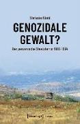Cover-Bild zu Genozidale Gewalt? (eBook) von Wiehl, Stefanie