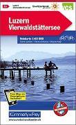 Cover-Bild zu Luzern, Vierwaldstättersee Velokarte Nr. 11. 1:60'000 von Hallwag Kümmerly+Frey AG (Hrsg.)