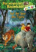 Cover-Bild zu Das magische Baumhaus junior 17 - Auf der Spur des Tigers von Pope Osborne, Mary