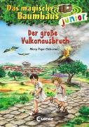 Cover-Bild zu Das magische Baumhaus junior 13 - Der große Vulkanausbruch von Pope Osborne, Mary