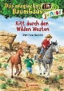 Cover-Bild zu Das magische Baumhaus junior 10 - Ritt durch den Wilden Westen von Pope Osborne, Mary